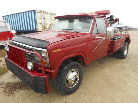 1986 Ford F350 Tow Truck 4x4 for sale at DAHL TRUCKS in Eyota MN