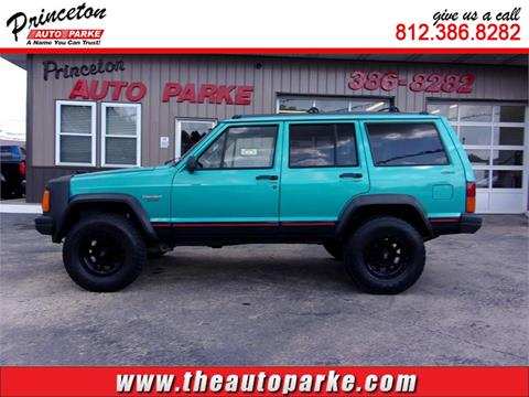 1996 Jeep Cherokee for sale in Princeton, IN