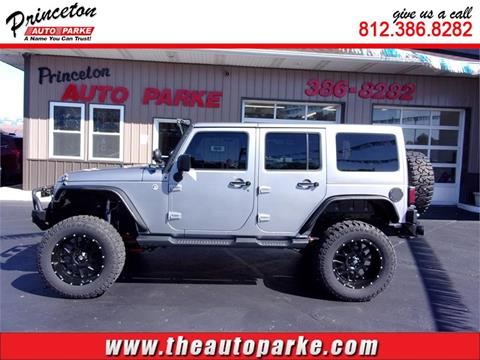 2013 Jeep Wrangler Unlimited for sale in Princeton, IN