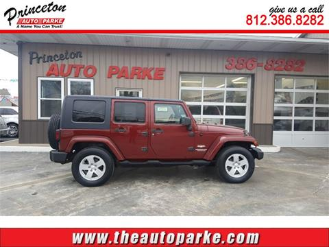 2007 Jeep Wrangler Unlimited for sale in Princeton, IN