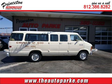1989 Dodge Ram Wagon for sale in Princeton, IN