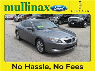 2009 Honda Accord for sale at Derek Montalvo at Mullinax Ford in Mobile AL