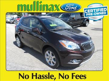 2013 Buick Encore for sale at Derek Montalvo at Mullinax Ford in Mobile AL
