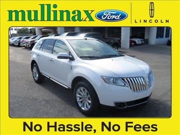 2014 Lincoln MKX for sale at Derek Montalvo at Mullinax Ford in Mobile AL
