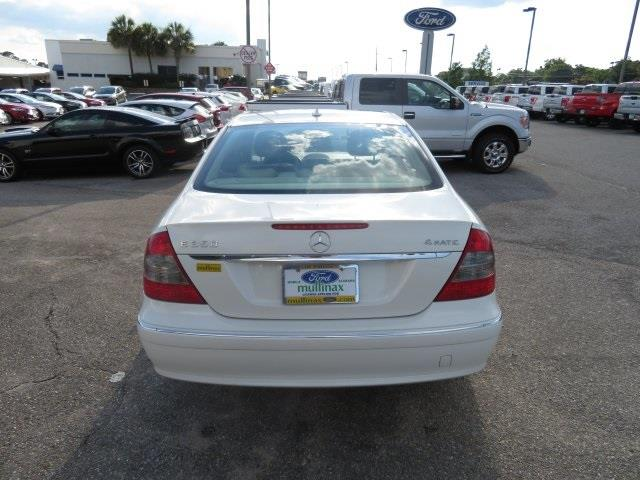 2008 Mercedes-Benz E-Class for sale at Derek Montalvo at Mullinax Ford in Mobile AL