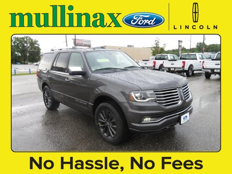 2017 Lincoln Navigator for sale at Ask for Derek Montalvo at Mullinax Ford in Mobile AL