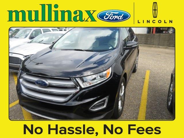 2016 Ford Edge for sale at Derek Montalvo at Mullinax Ford in Mobile AL