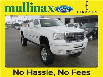 2011 GMC Sierra 2500HD for sale at Derek Montalvo at Mullinax Ford in Mobile AL
