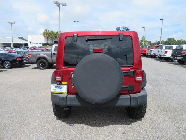 2013 Jeep Wrangler Unlimited for sale at Derek Montalvo at Mullinax Ford in Mobile AL
