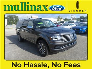 2017 Lincoln Navigator L for sale at Derek Montalvo at Mullinax Ford in Mobile AL