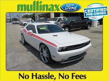 2014 Dodge Challenger for sale at Ask for Derek Montalvo at Mullinax Ford in Mobile AL