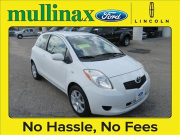 2008 Toyota Yaris for sale at Derek Montalvo at Mullinax Ford in Mobile AL