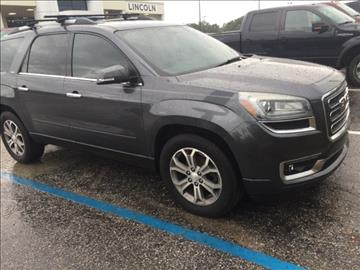 2013 GMC Acadia for sale at Derek Montalvo at Mullinax Ford in Mobile AL