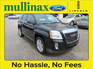 2012 GMC Terrain for sale at Derek Montalvo at Mullinax Ford in Mobile AL