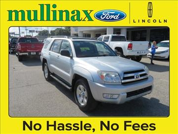 2005 Toyota 4Runner for sale at Derek Montalvo at Mullinax Ford in Mobile AL
