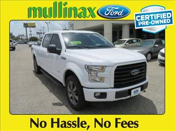 2015 Ford F-150 for sale at Derek Montalvo at Mullinax Ford in Mobile AL