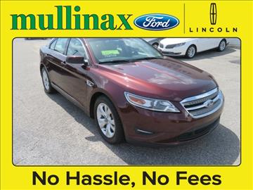 2012 Ford Taurus for sale at Derek Montalvo at Mullinax Ford in Mobile AL
