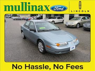 2002 Saturn S-Series for sale at Derek Montalvo at Mullinax Ford in Mobile AL