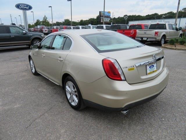 2011 Lincoln MKS for sale at Ask for Derek Montalvo at Mullinax Ford in Mobile AL