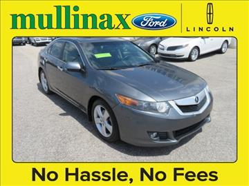 2009 Acura TSX for sale at Ask for Derek Montalvo at Mullinax Ford in Mobile AL