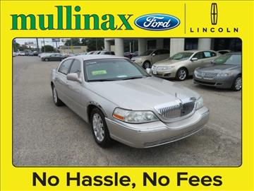 2009 Lincoln Town Car for sale at Ask for Derek Montalvo at Mullinax Ford in Mobile AL