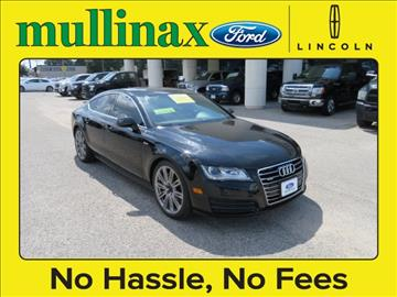 2012 Audi A7 for sale at Ask for Derek Montalvo at Mullinax Ford in Mobile AL