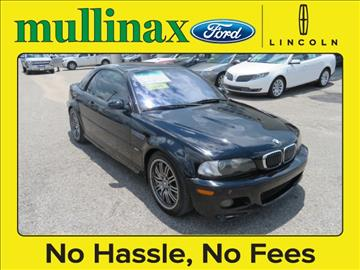 2002 BMW M3 for sale at Ask for Derek Montalvo at Mullinax Ford in Mobile AL