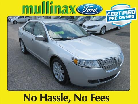 2012 Lincoln MKZ for sale at Ask for Derek Montalvo at Mullinax Ford in Mobile AL