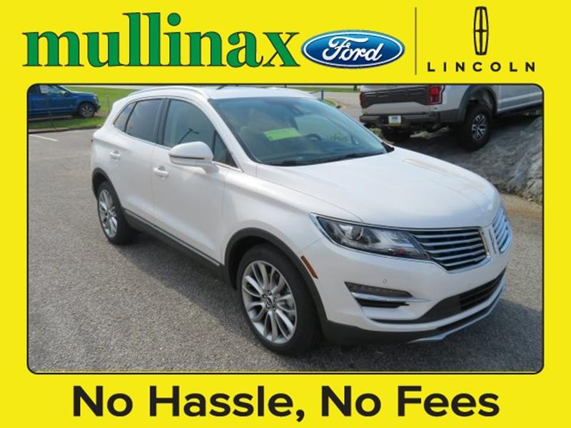 2017 Lincoln MKC for sale at Ask for Derek Montalvo at Mullinax Ford in Mobile AL