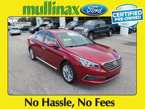 2015 Hyundai Sonata for sale at Ask for Derek Montalvo at Mullinax Ford in Mobile AL