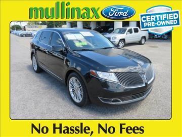 2014 Lincoln MKT for sale at Ask for Derek Montalvo at Mullinax Ford in Mobile AL