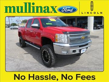2013 Chevrolet Silverado 1500 for sale at Ask for Derek Montalvo at Mullinax Ford in Mobile AL