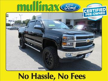 2014 Chevrolet Silverado 1500 for sale at Ask for Derek Montalvo at Mullinax Ford in Mobile AL