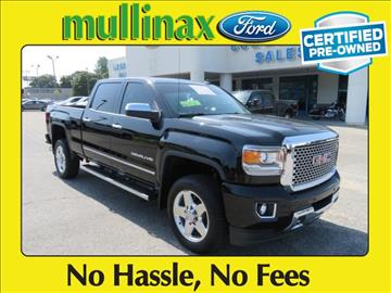 2015 GMC Sierra 2500HD for sale at Ask for Derek Montalvo at Mullinax Ford in Mobile AL