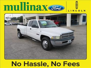 2002 Dodge Ram Pickup 3500 for sale at Ask for Derek Montalvo at Mullinax Ford in Mobile AL