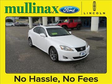 2008 Lexus IS 250 for sale at Derek Montalvo at Mullinax Ford in Mobile AL