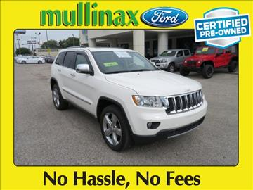 2012 Jeep Grand Cherokee for sale at Derek Montalvo at Mullinax Ford in Mobile AL
