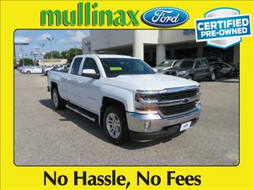 2016 Chevrolet Silverado 1500 for sale at Ask for Derek Montalvo at Mullinax Ford in Mobile AL