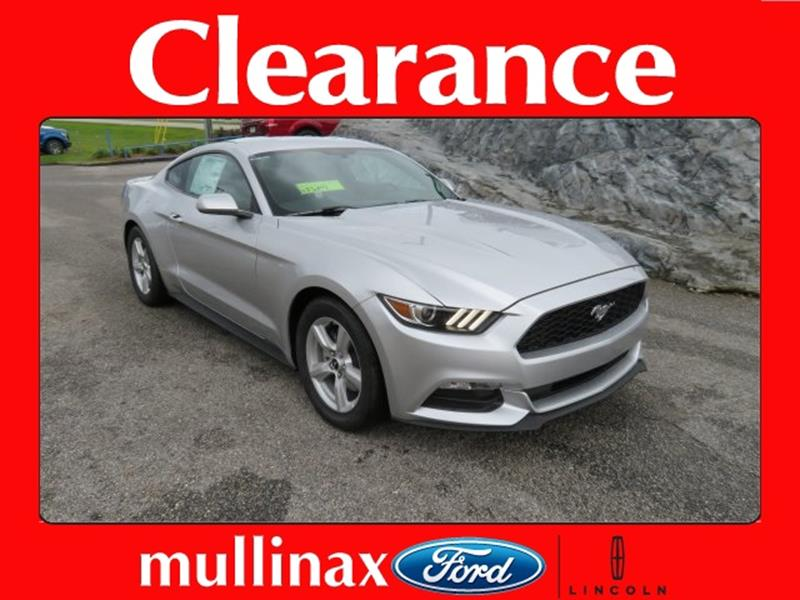 2017 Ford Mustang for sale at Ask for Derek Montalvo at Mullinax Ford in Mobile AL