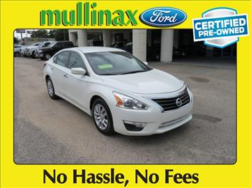 2014 Nissan Altima for sale at Ask for Derek Montalvo at Mullinax Ford in Mobile AL