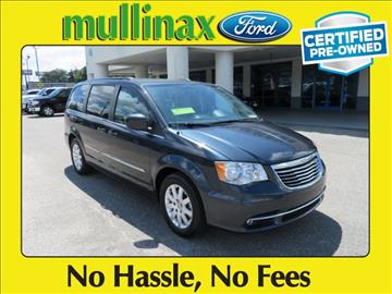 2013 Chrysler Town and Country for sale at Ask for Derek Montalvo at Mullinax Ford in Mobile AL