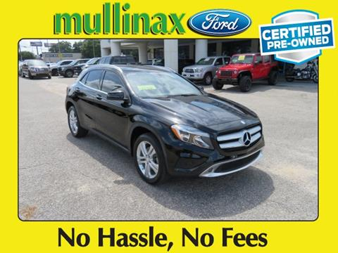 2016 Mercedes-Benz GLA for sale at Ask for Derek Montalvo at Mullinax Ford in Mobile AL