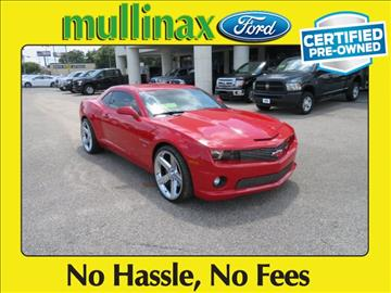2010 Chevrolet Camaro for sale at Ask for Derek Montalvo at Mullinax Ford in Mobile AL