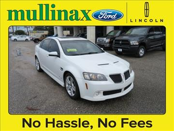 2008 Pontiac G8 for sale at Ask for Derek Montalvo at Mullinax Ford in Mobile AL