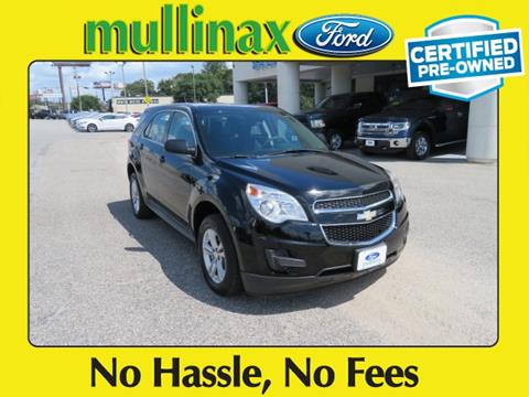 2012 Chevrolet Equinox for sale at Ask for Derek Montalvo at Mullinax Ford in Mobile AL
