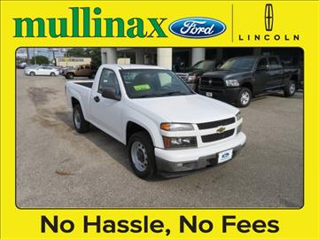 2012 Chevrolet Colorado for sale at Ask for Derek Montalvo at Mullinax Ford in Mobile AL