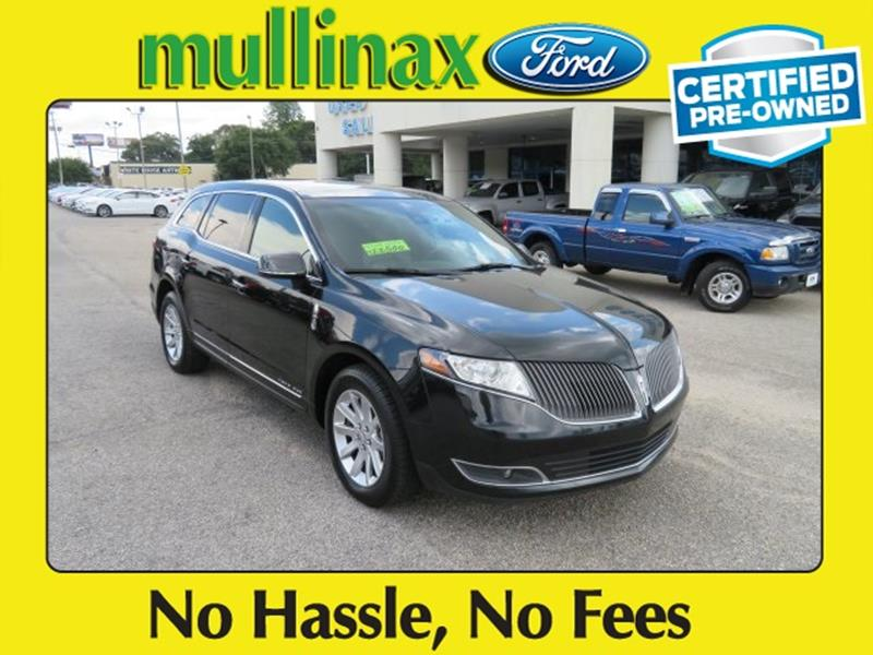 2015 Lincoln MKT Town Car for sale at Ask for Derek Montalvo at Mullinax Ford in Mobile AL