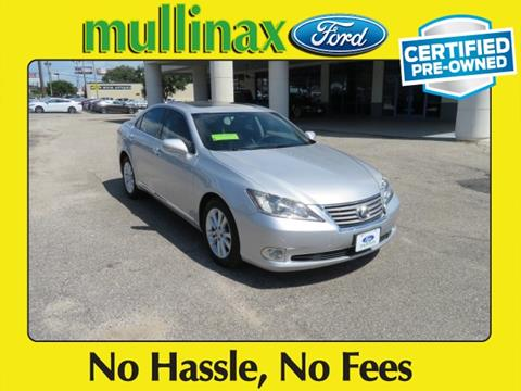 2012 Lexus ES 350 for sale at Ask for Derek Montalvo at Mullinax Ford in Mobile AL