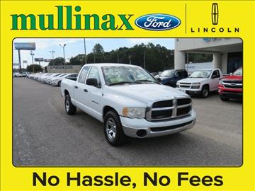 2004 Dodge Ram Pickup 1500 for sale at Ask for Derek Montalvo at Mullinax Ford in Mobile AL