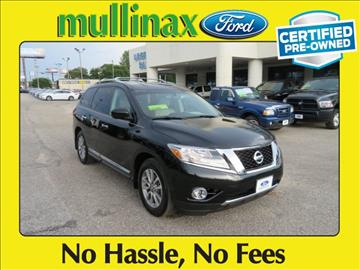 2016 Nissan Pathfinder for sale at Ask for Derek Montalvo at Mullinax Ford in Mobile AL